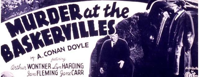 Murder at the Baskervilles Film Poster