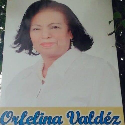 Orfelina Valdez...regidora PRM