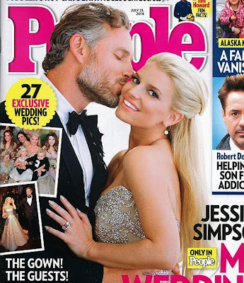 Jessica Simpson wedding photos hot