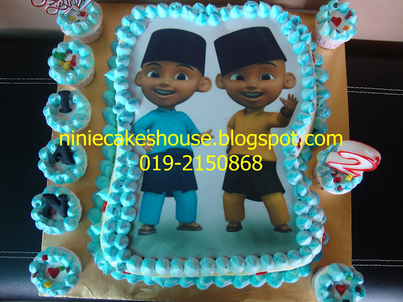 ninie cakes house: Upin Ipin Cake
