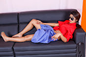 Charulatha Hot Photo shoot in Lungi-thumbnail-10