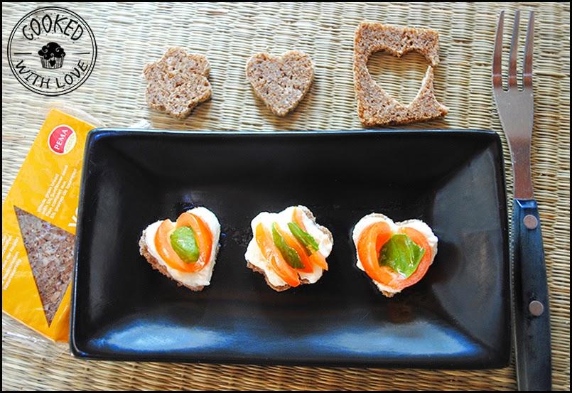 Mini - Caprese su pane di segale Pema 2