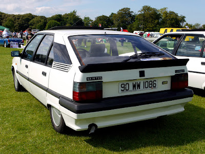 Rear shot of the above very fine Citroen BX