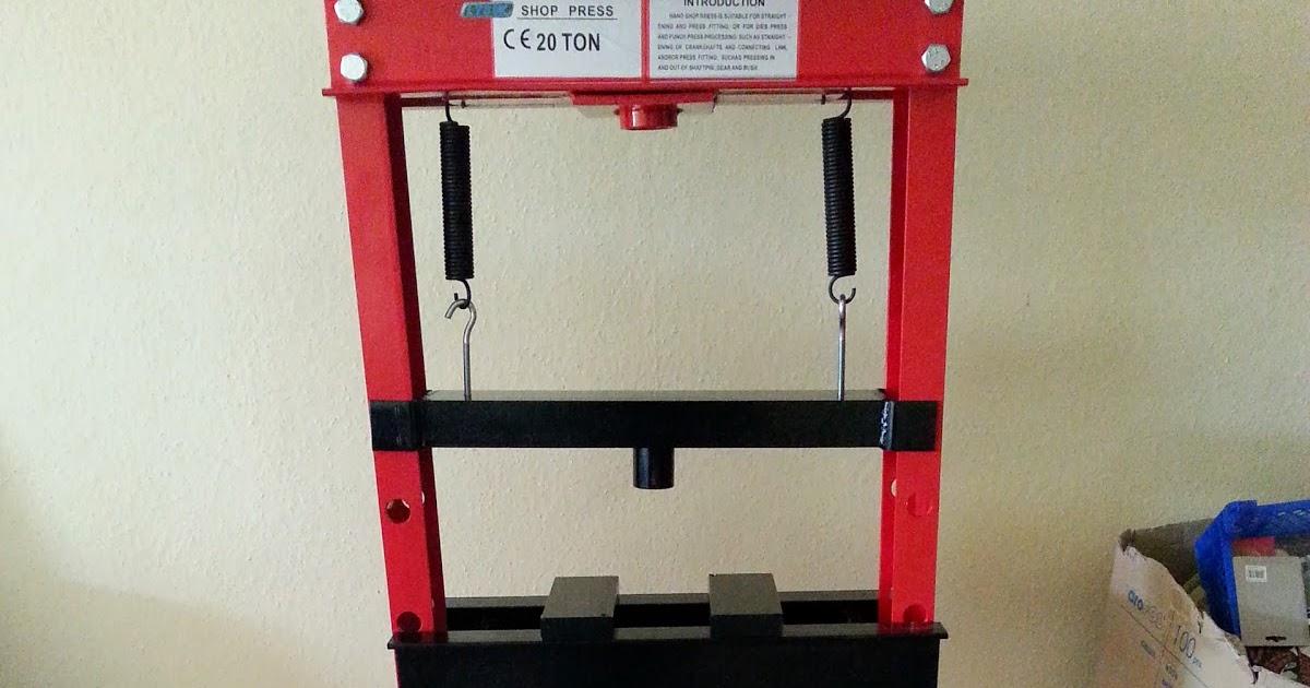 Nerd Club 20 Ton Workshop Press For Die Cutting
