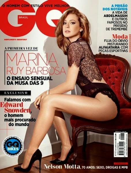 Marina Ruy Barbosa - GQ Magazine, Brasil, October 2014