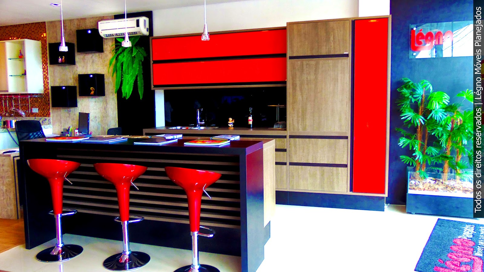 Cozinha Planejada. Légno Móveis Planejados #CA0102 1600 900