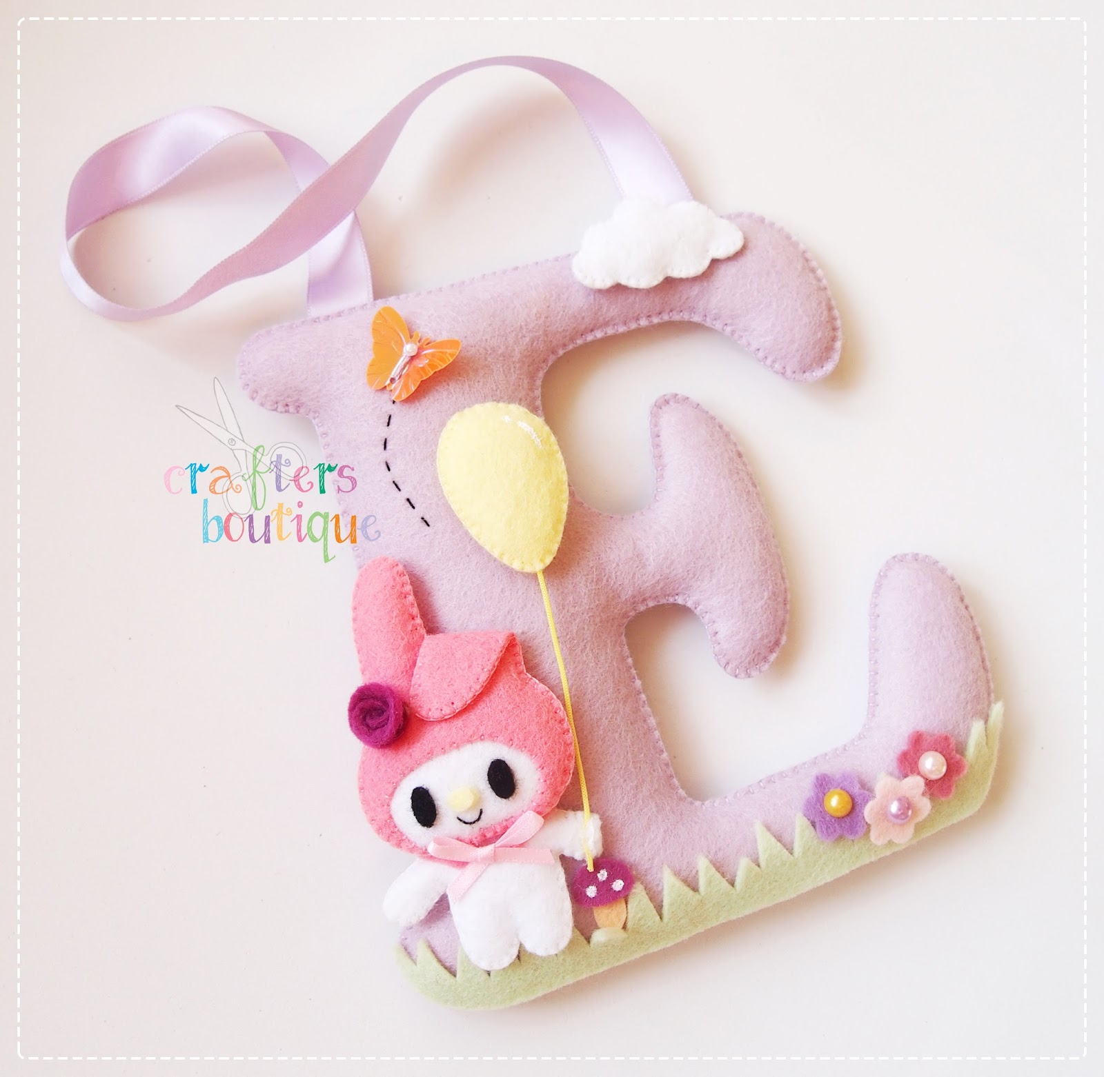 Crafters Boutique: My Melody Theme Monogram \