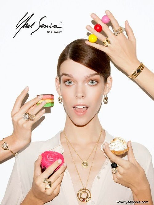 meghan for yael sonia fine jewelry spring 2014 mode
