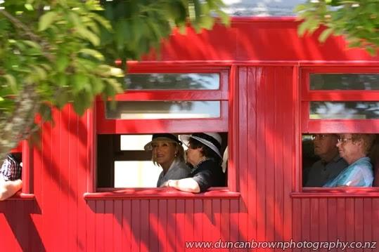 Moving memories - Art Deco steam train puffs through Hastings photograph
