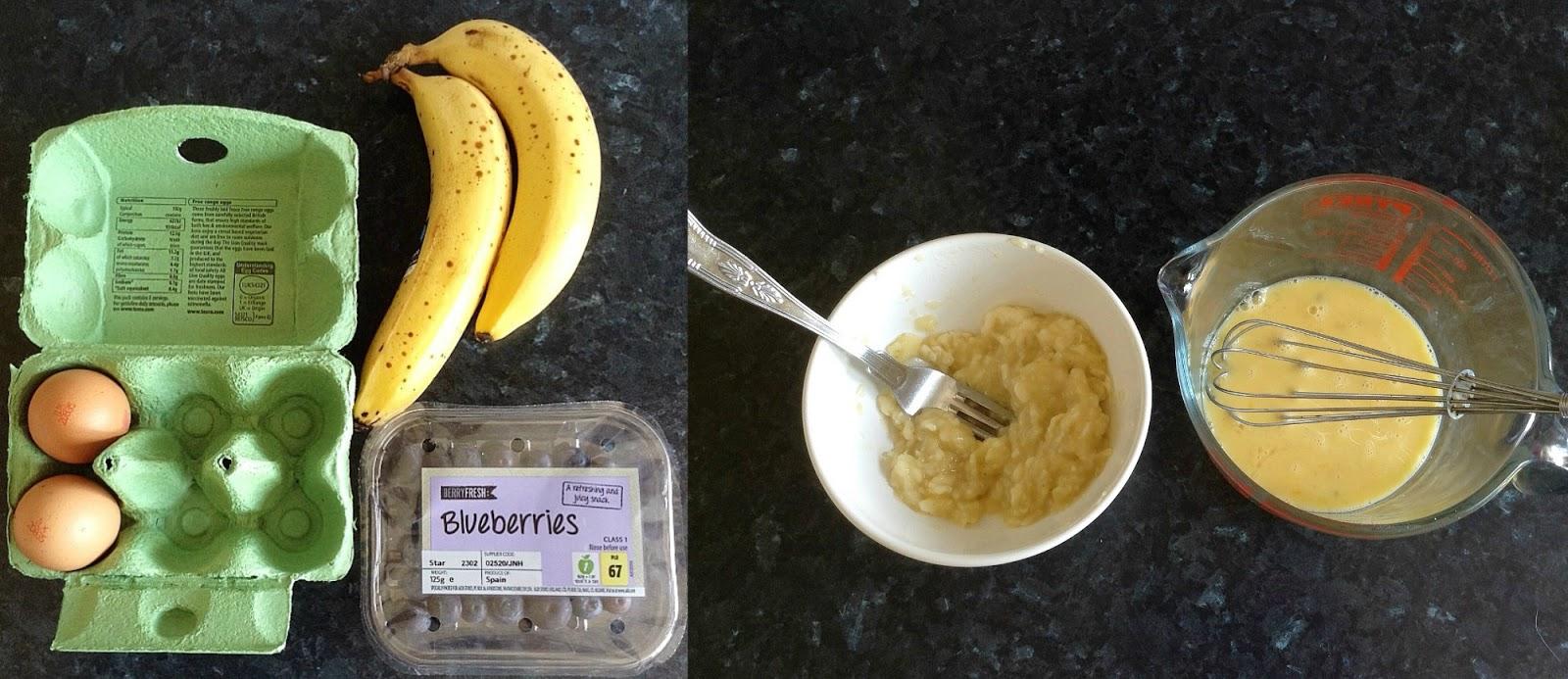 Skinny Healthy Banana Pancakes
