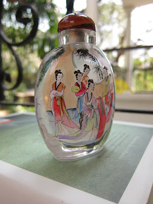 Inside painted Chinese snuff bottle