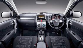 Interior Mobil Toyota New Rush Terbaru 2015