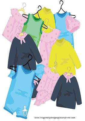ropa de bebe para imprimir