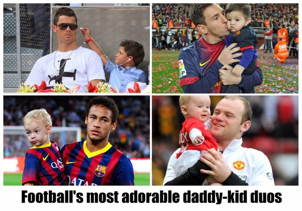 Football's MOST Adorable Daddy, hottest dad