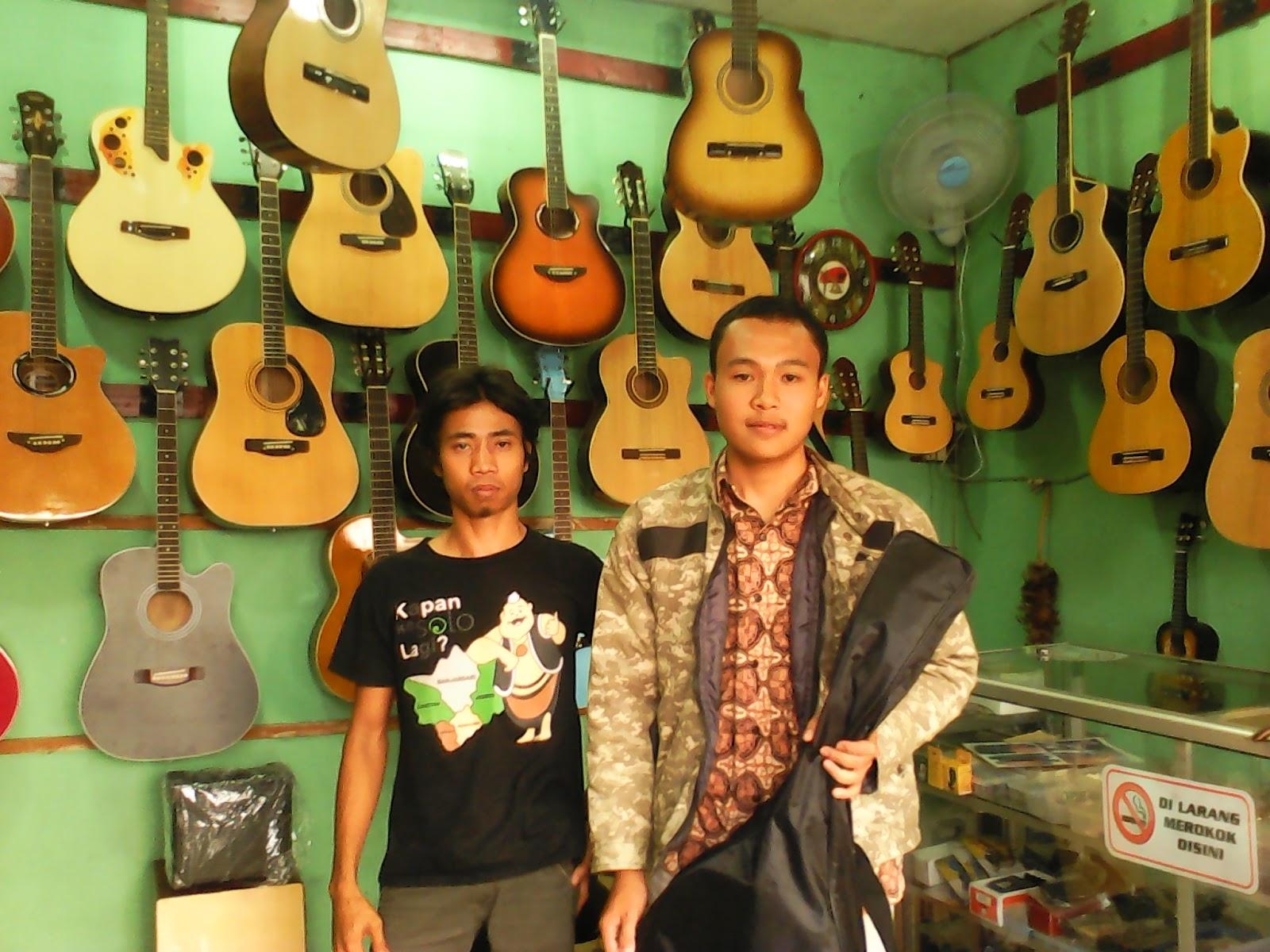 tutorial jihart tempat servis gitar muncul