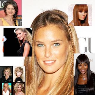 Tendências moda de cabelos 2012