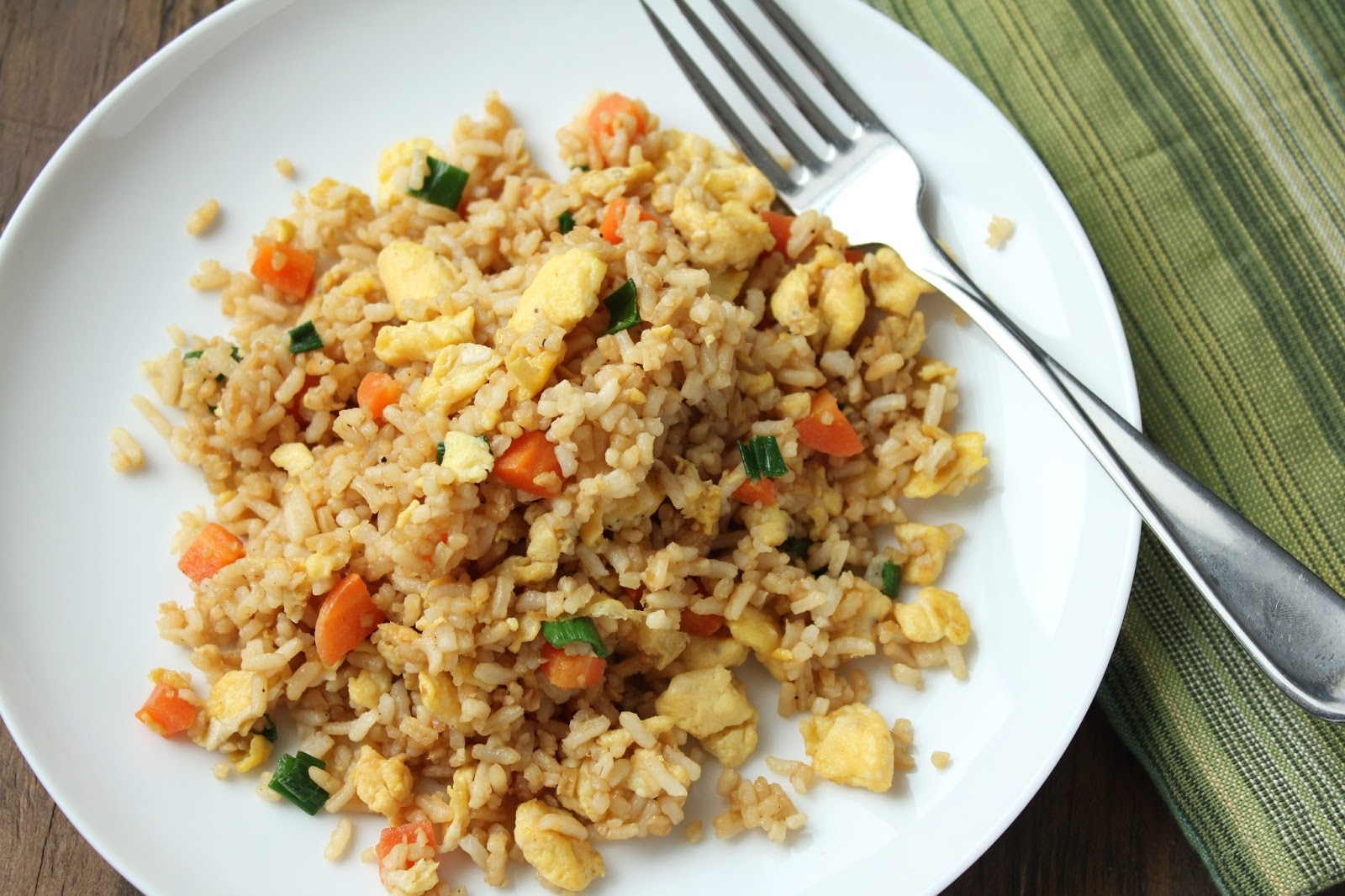Delicious as it Looks: Chinese Fried Rice (Low-Fructose & Gluten-Free)