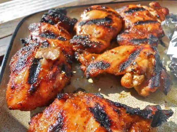 طريقة عمل الدجاج المشوي, دجاج بالكاري Grilled Chicken