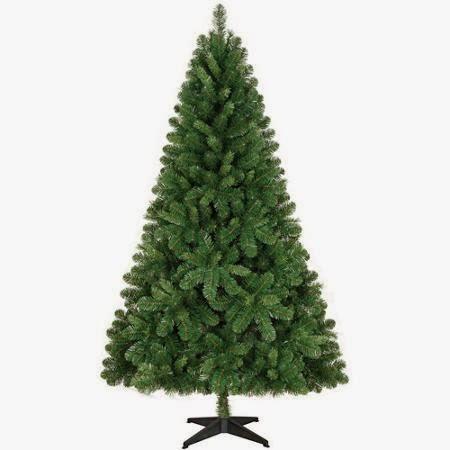 Holiday Time Non-Lit 6.5' Jackson Christmas Tree, Green