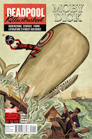 Deadpool Killustrated graphic novel cover with Moby Dick