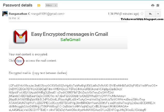 How To Send Encrypted Emails In Gmail With SafeGMail