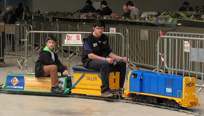 tren de jardin lleida expo tren  salon ferroviario 2013