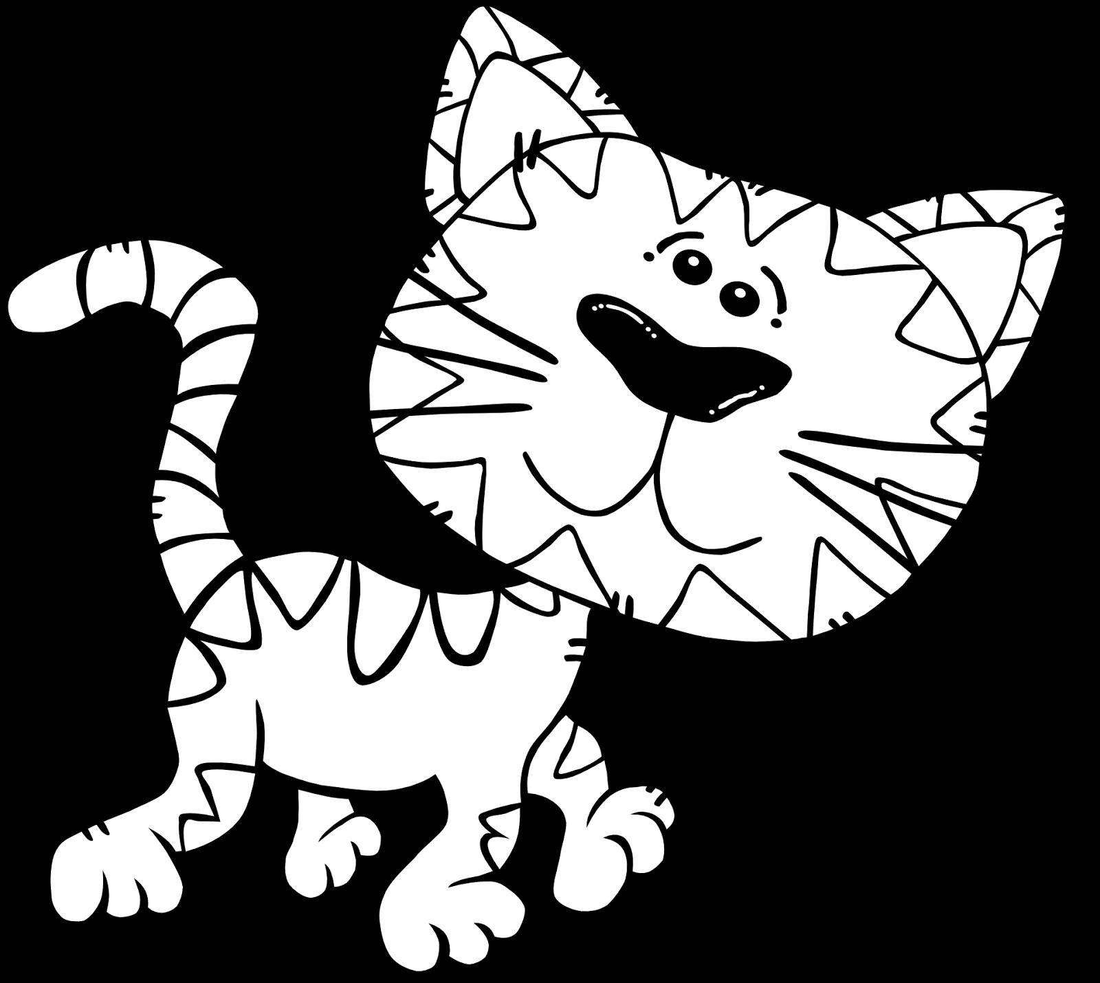 Mewarnai Gambar Kucing Free Download