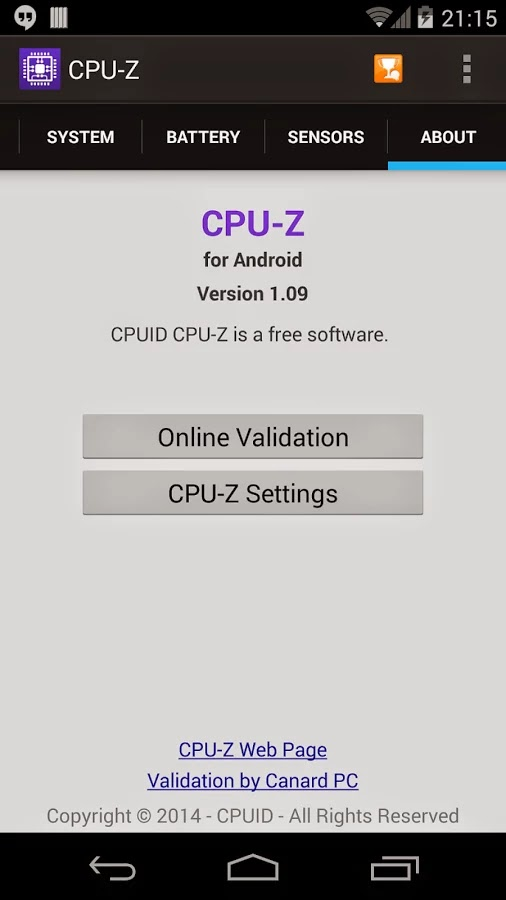 CPU-Z v1.0.9 (build 91) Ad-Free