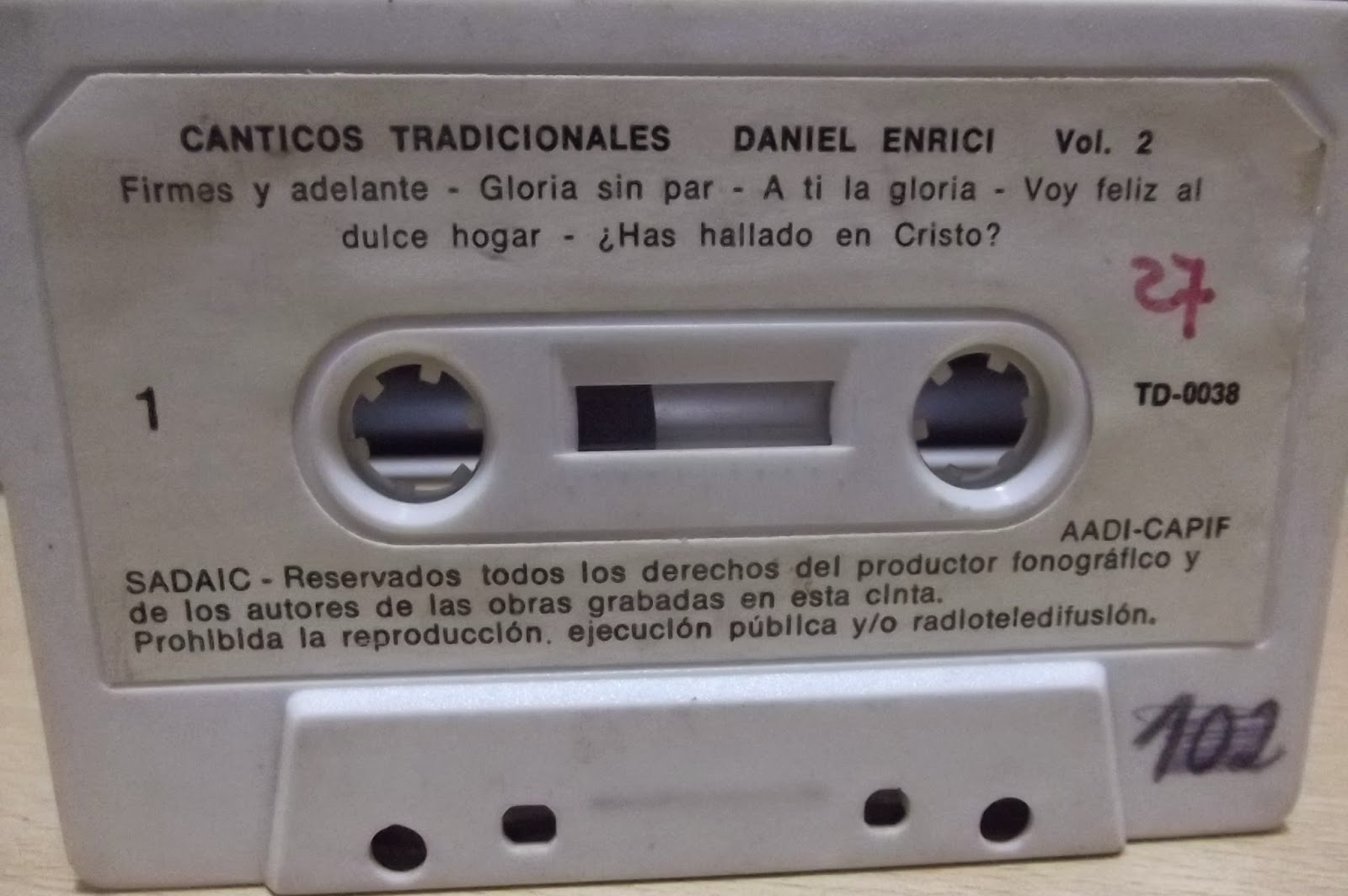 Daniel Enrici-Vol 2-Cánticos Tradicionales-