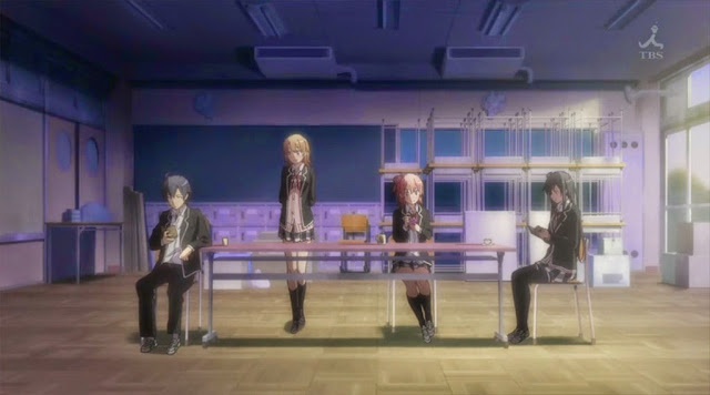 Opening Oregairu episode 8