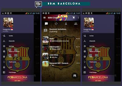 BBM MOD Barcelona Versi 2.10.0.31 APK