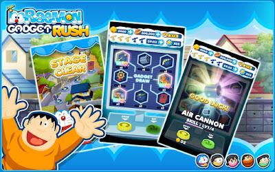 Doraemon Gadget Rush v1.1.0 Mod Apk Terbaru