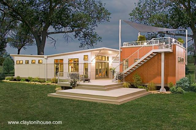 Casa prefabricada norteamericana