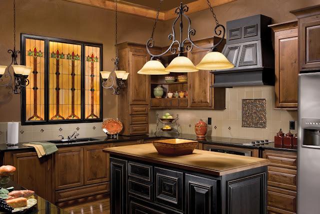 Oświetlenie w kuchni - aranżacja kuchni