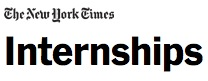The New York Times Summer Internship Program and Jobs
