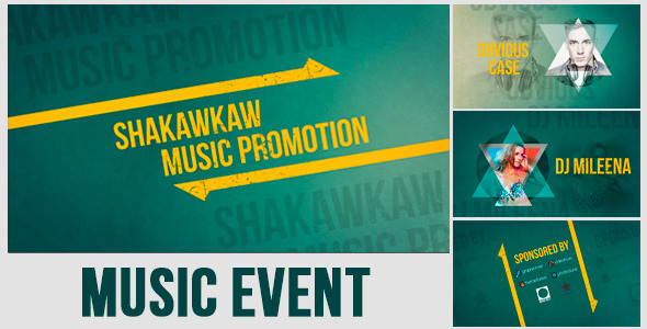VideoHive Music Event Promo