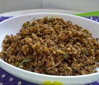 """""""Carne"""" de Couve-Flor e Nozes (vegana)"""