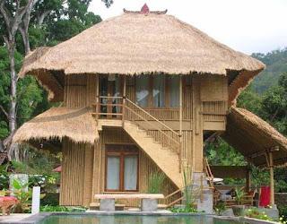 Rumah Bambu Minimalis Modern