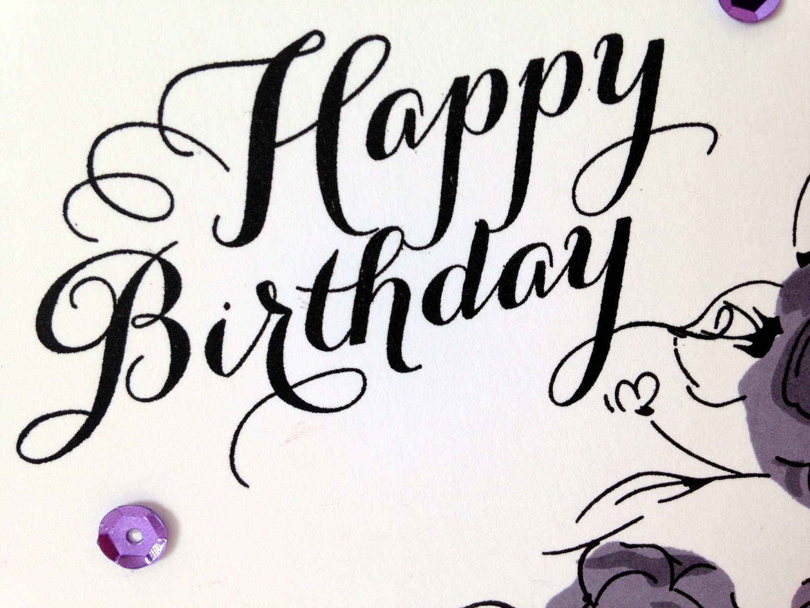 Cupcakes Cards and Kim Colour Me 83 Monochromatic and Happy