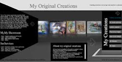 My art gallery website