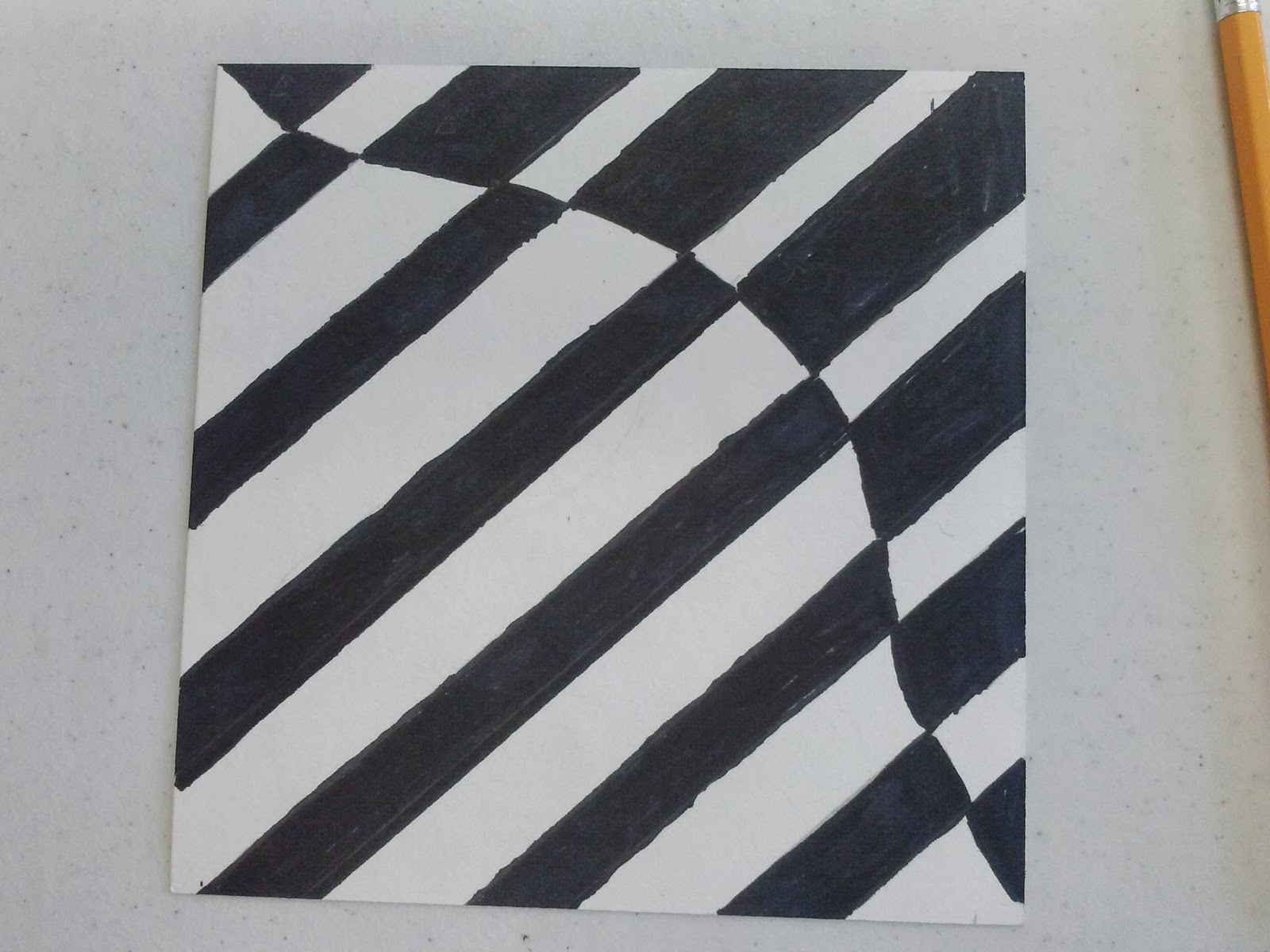 Implied Lines In Art : Colors and shapes op art designs