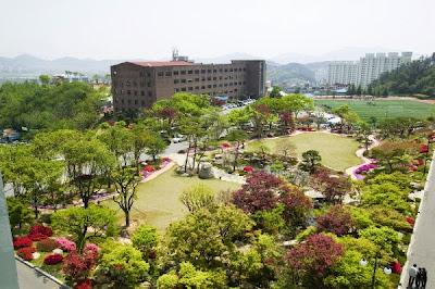 Du học nghề Hàn Quốc vừa học vừa làm Phục vụ sân golf 2015