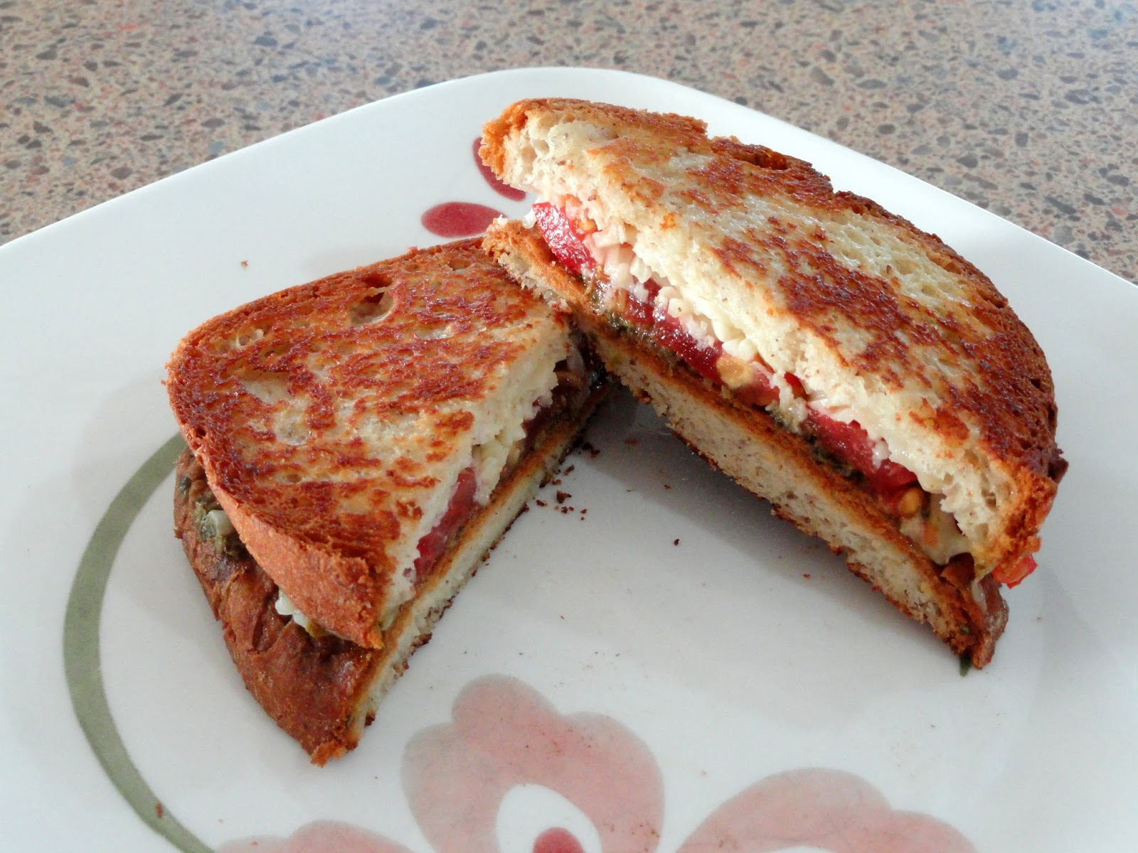 As Good As Gluten: Caprese Grilled Cheese Sandwich