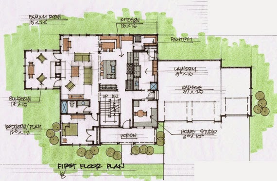 Knock knock an architect 39 s blog for homeowners who care for Living room and family room next to each other