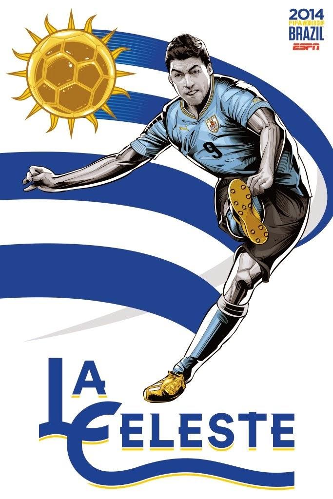 Uruguay Team FIFA 2014