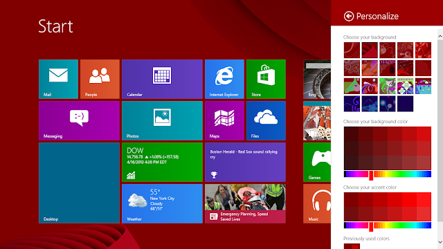 Windows 8 Blue x64bit free download Screenshots