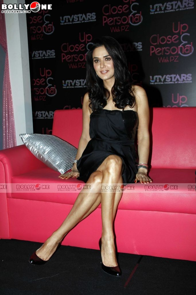 Preity Zinta at the launch of UTV Stars new show