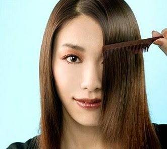 meluruskan rambut tanpa rebonding