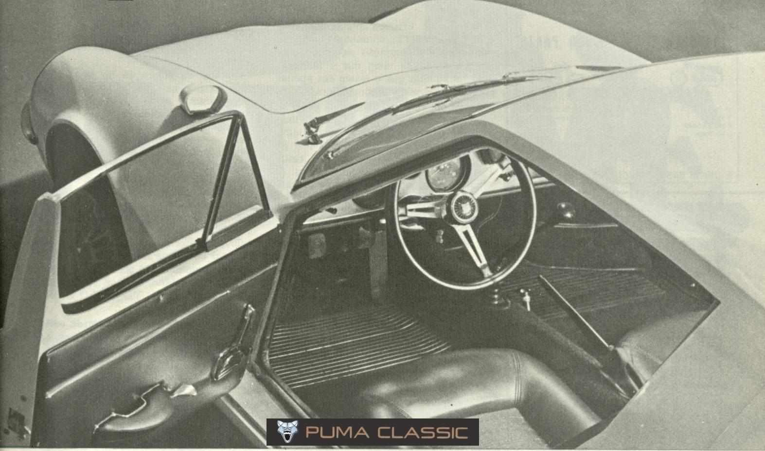 No Puma GT VW de 1968 a 1970