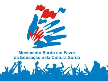 Eu apoio o Movimento Surdo!